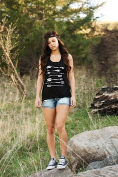 Cross Back Arrow Tank-BLK – Laney Lu's Boutique