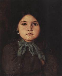 .:. Γύζης Νικόλαος  Gyzis Nikolaos [1842-1901] Κοριτσάκι 5