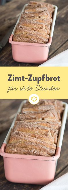 Zimt-Zupfbrot - willkommen im Gebäck-Himmel Tritt ein in den süßen Gebäck-H. Cinnamon plucked bread - welcome to the pastry heaven Step into the sweet pastry heaven: With this irresistible cinnamon Baking Recipes, Cake Recipes, Dessert Recipes, Pastries Recipes, Receitas Crockpot, Cake & Co, Sweet Pastries, How To Make Bread, Food Cakes
