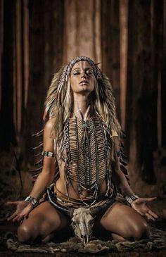pray by Bruno Roth on American Indian Girl, Native American Girls, Native American Pictures, Native American Beauty, Indian Pictures, American Indians, Tribal Warrior, Warrior Girl, Fantasy Warrior