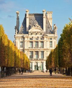 the Tuileries Gardens are one of Paris's most elegant places