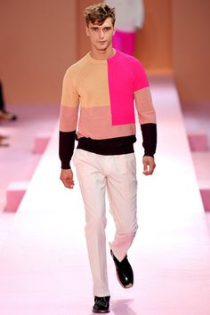 Paul Smith Spring 2014. Can I just die and go to fashion heaven... While wearing this sweater?