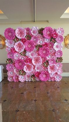 Items similar to Pink Paper Flower Wall x Extra Large Paper Flowers Decoration Photo Backdrop Prop on Etsy Large Paper Flowers, Paper Flower Wall, Paper Flower Backdrop, Flower Wall Decor, Paper Decorations, Flower Decorations, Decoration Photo, Easter Coloring Pages, Pink Paper