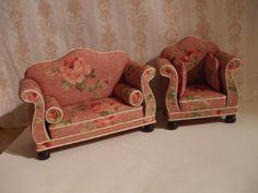 Miniature Sofa and Chair