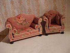 Miniature Sofa and Chair