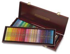 Prismacolor Premier Colored Pencil Wood Box Sets - Deluxe Collection - 120 pencils.