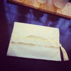 #handmade クラッチバッグ