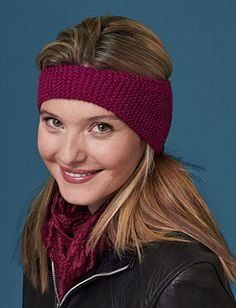 Keep cozy with this quick and easy ear warmer. It's a perfect project for beginners and makes a great last-minute gift for ladies and teens. (Yarnspirations)
