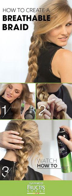 Break free from crunchy braids and learn how to create a loose, breathable Frenc nice Break free from crunchy braids and learn how to create a loose, breathable Frenc… by www. My Hairstyle, Pretty Hairstyles, Look At You, About Hair, Hair Today, Hair Dos, Gorgeous Hair, Hair Hacks, Hair Trends