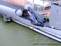 USS GROWLER DIESEL POWERED SUBMARINE 'INTREPID SEA, AIR and SPACE MUSEUM' NEW YORK