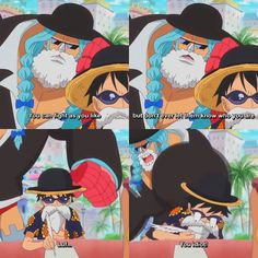Franky and Luffy in Dressrosa wow I'm kinda sad now that the Dressrosa arc in… One Piece Anime, One Piece Ex, 0ne Piece, Single Piece, One Piece Funny Moments, Amaama To Inazuma, Tsurezure Children, Disgusted Face, Fairy Tail Love