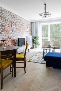 Wnętrza Zewnętrza: Mieszkanie w Warszawie: perfekcyjne połączenie starego z nowym