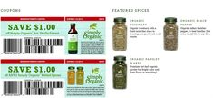 Simply Organic Bottled Spices and Vanilla Extract Coupons http://organicandglutenfreelifestyle.weebly.com/thanksgiving.html