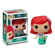 I'm not the biggest Little Mermaid fan, but I kind of love these. They are strange and cute!