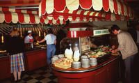 Ravintola Kamppi 1980-luvulla, Hotelli- ja ravintolamuseo. Restaurant History, The Old Days, Helsinki, Old Things