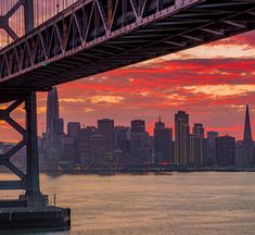 by Dave Nguyen | We do get nice sunsets here in San Francisco for sure but seeing an amazing one with the newly built skyscrapers and the Embarcadero Center lights indeed makes for a unique and memorable experience. by photoblog.sanfranciscofeelings.com sanfrancisco sf bayarea alwayssf goldengatebridge goldengate alcatraz california