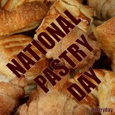 National Pastry Day - December 12, 2015