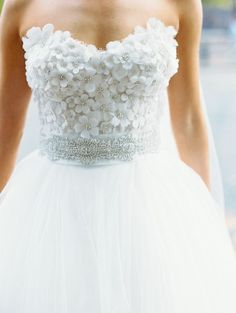 Sophisticated Black Tie DC Wedding from Abby Jiu Photography. - wedding dress