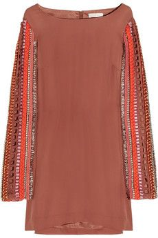 Sass & Bide the special issue silk-crepe shift dress