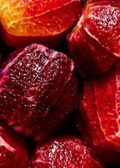 blood orange - our favorite comfort fruit 🍊 try it in an old fashioned for a fruit-forward lift with our blood orange and black currant syrup, available here. Orange Fruit, Red Fruit, Fruit And Veg, Fruits And Veggies, Orange Orange, Growing Vegetables, Burnt Orange, Food Styling, Rubin Rose