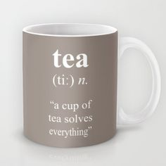 Tea Mug by cafelab - $15.00