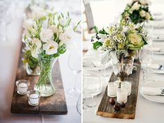 QuirkyParties - Wood Table Runners
