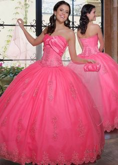 Quinceanera dress for my granddaughter's 15th birthday.