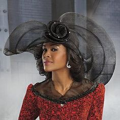 fc6e4896953 84 Best Church Hats of African American Women images