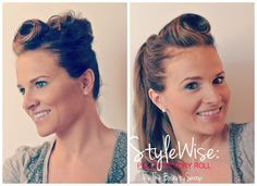 STYLEWISE: VINTAGE VICTORY ROLL PIN-UP DO