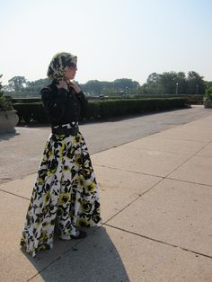 Haute Muslimah: Haute Hijab- From the Model's Point of View: fashion is in every culture!