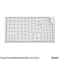 photograph relating to Kansas County Map Printable called 53 Great Blank Define Maps visuals in just 2018 Determine, County