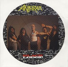 "For Sale - Anthrax Black Lodge UK  12"" vinyl picture disc 12inch picture disc…"