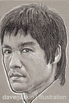 Sketch card of Bruce Lee Bruce Lee Art, Way Of The Dragon, Blue Ivy, Disneyland Trip, Do What Is Right, Wing Chun, Celine Dion, Girls Characters, Fifth Harmony
