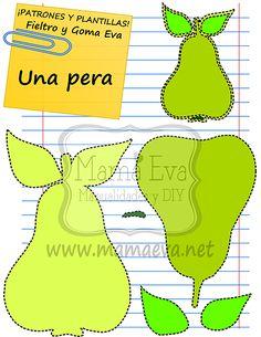 Plantilla Patron Alimentos Bebidas Eva Fieltro Molde Alimentos Bebidas Fomi Fieltro Free Food Drinks Template Felt Foam Modele Aliments Beverages Feutrine