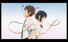 君の名は。キャンペーン|ローソン >> Kimi no na wa/ Your Name Film Anime, Anime Music, Anime Manga, Anime Art, Your Name Movie, Your Name Anime, Top 10 Anime Movies, Anime Love, Mitsuha And Taki