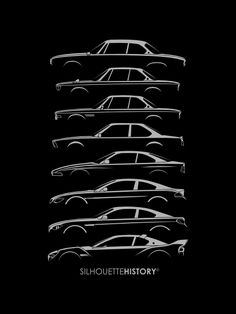 SilhouetteHistory — Bavarian GT  SilhouetteHistory Silhouettes of BMW...