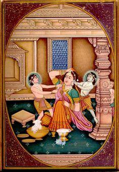 transcendental pastimes- Krishna,   Balarama and Yasoda Ma