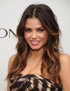 Jenna Dewan Tatums hair melt I'd georgeous. Love her makeup too!