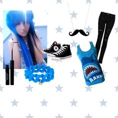 Emo Scene Outfit 4