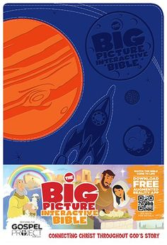 The Big Picture Interactive Bible for Kids, Orange/Purple Creation LeatherTouch: Connecting Christ Throughout God's Story (The Gospel Project): B&H Editorial Staff, Heath McPherson: 9781586406417: Amazon.com: Books