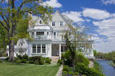 Coastal Rye, NY Residence  Coastal  Architectural Detail by Mark P Finlay Architects