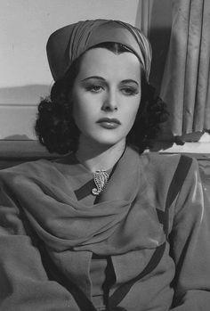 """Hedy Lamarr As Gaby in """"Algiers"""" (1938)..."""