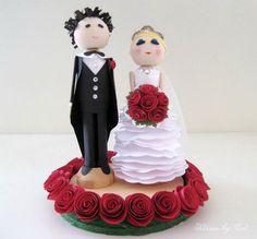 Custom Wedding Cake Toppers Unique