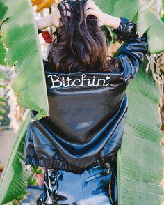 Bitchin' Bomber Jacket  Valfre.com #valfre