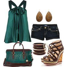 Satin Green