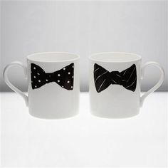 Peter Ibruegger Boris-Alexander Bow Tie Mug