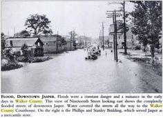 19th Street Jasper. Flood