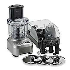 Breville Sous Chef Food Processor features Numerous Slicing, Dicing, Chopping & Kneading Options w/ Manufacturer's Warranty on Induction Motor Best Food Processor, Food Processor Recipes, Small Kitchen Appliances, Kitchen Gadgets, Quiche Crust Recipe, Food Portions, My Bridal Shower, Chef Recipes, Dessert Recipes