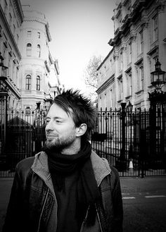 Thom Yorke. I will never again apologize for being totally in love with him.
