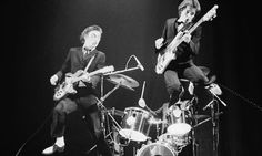 Paul Weller and Bruce Foxton of The Jam